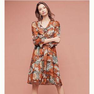 Peasant Dress - Anthropologie